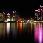 October is National Breast Cancer Awareness Month. We LOVE how Detroit turns pink in honor!