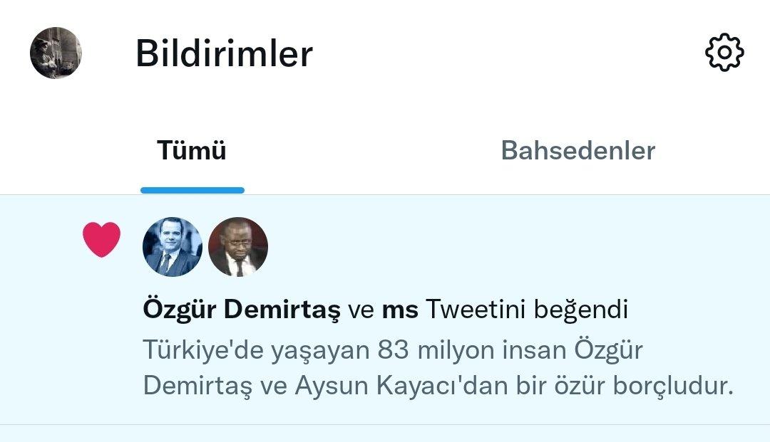 Özgür Demirtaş Twitter