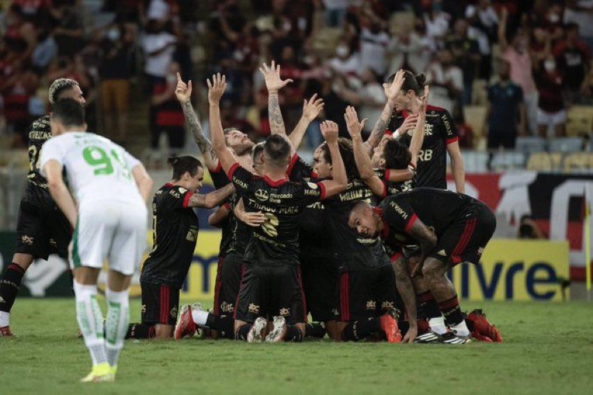 Confira a tabela atualizada do Brasileirão após a vitória do Flamengo diante do Juventude