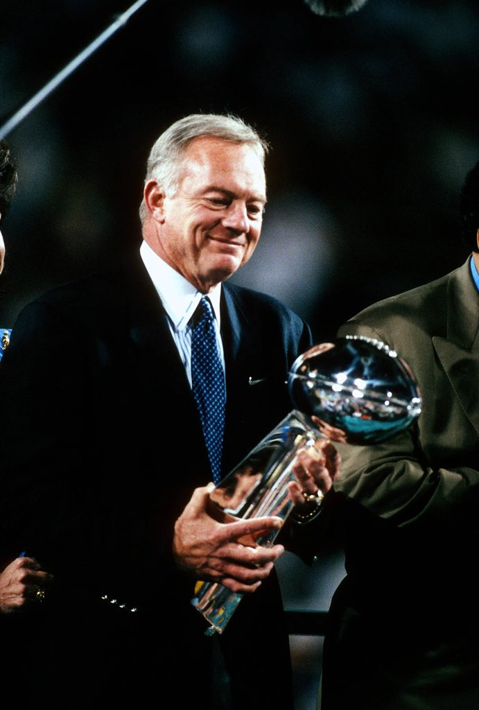 Everyone to wish a Happy Birthday to the legend himself, Jerry Jones!