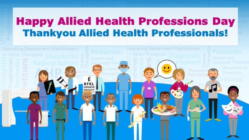 RT @ouh_therapies: Happy AHP day. Thank you for all the amazing work you do @OUHospitals https://t.co/ymYB5JbD0d