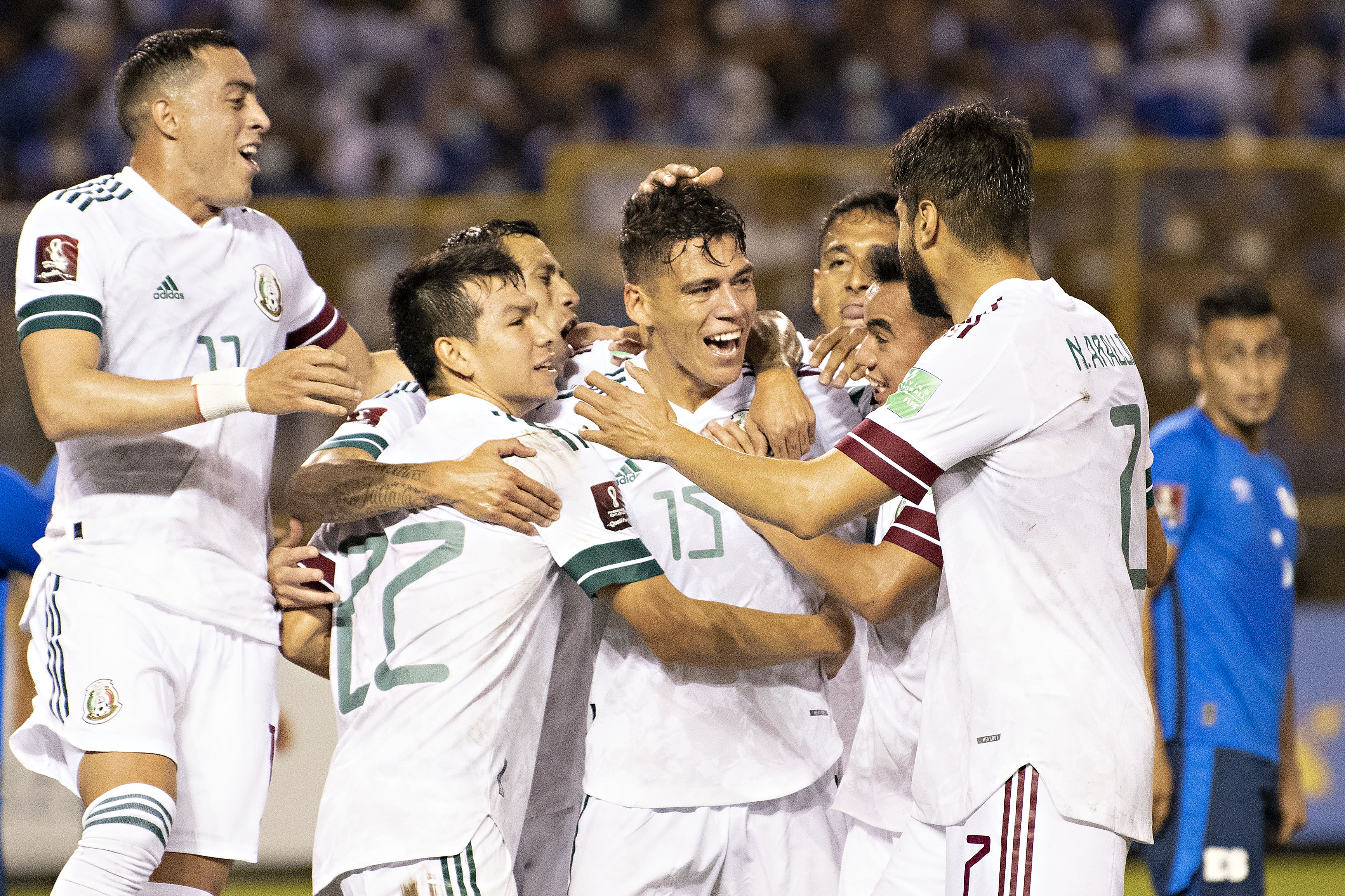 El Salvador vs México 0-2 Octagonal Final CONCACAF 2022