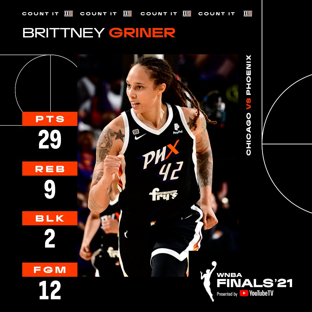 @WNBA's photo on Griner
