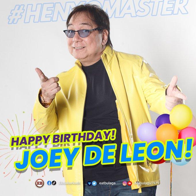 MASTER HENYO AngPoetNyo: Happy Birthday, Joey De Leon