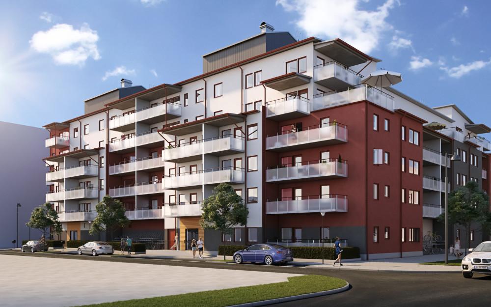 Över hälften av de 80 bostadsrätter i Brf Sjömärket på Lillåudden i Västerås är antingen redan sålda eller reserverade till personer inom Riksbyggens intressekö. I  https://t.co/X6z1QIjeCD https://t.co/9LSp7czNFq