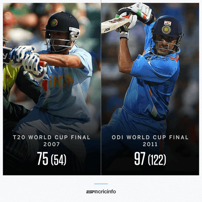 Two Gautam Gambhir innings that India fans will never forget  Happy Birthd