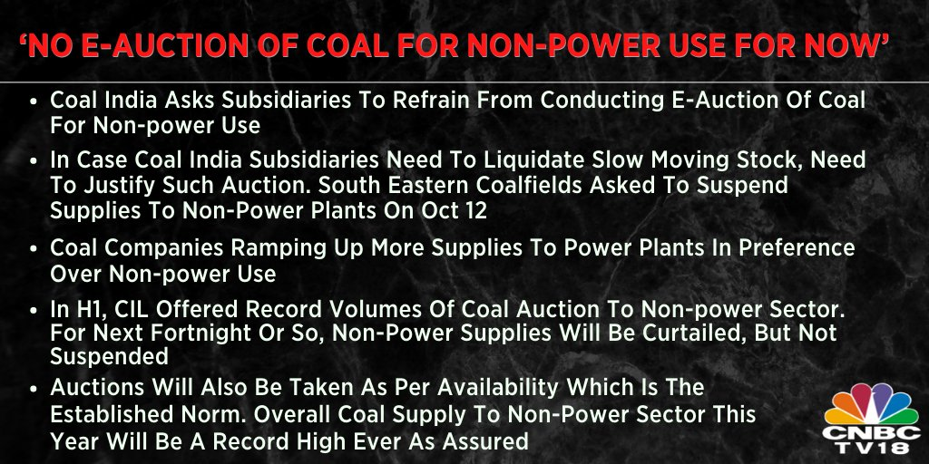 Coal India asks subsidiaries not to conduct e-auction for non-power use