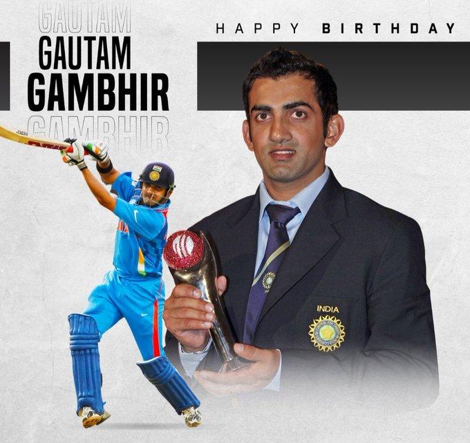 Happy Birthday Gautam Gambhir Legend!!