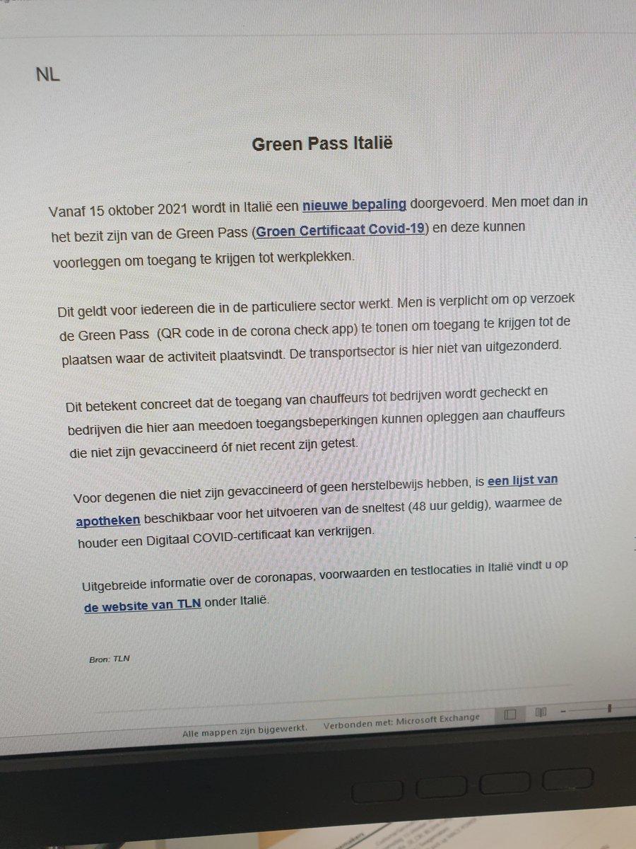 test Twitter Media - @renevangellekom @nancy_verlinden @lotje_hx Nee hoor,werk bij een Nederlands transportbedrijf en dit is een email van gisteren. https://t.co/VOxhJpTREp