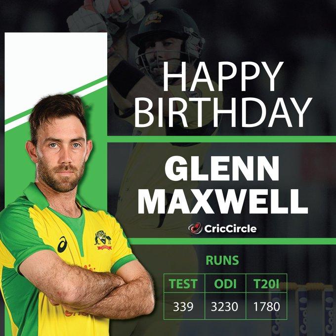 Happy Birthday Glenn Maxwell