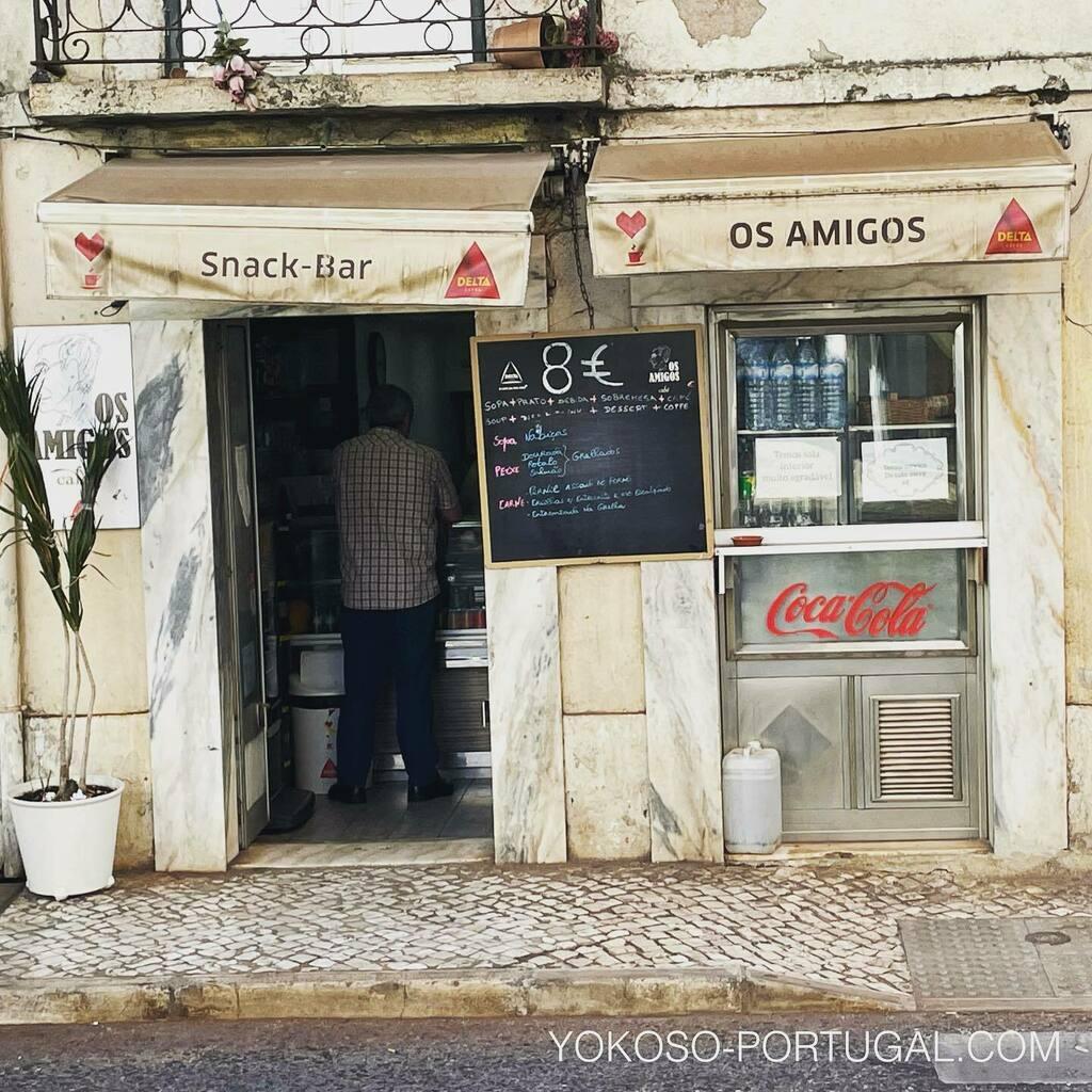 test ツイッターメディア - 昔ながらの定食屋さんの日替わりランチ。スープ、メイン、ワイン、デザート、コーヒーがついて8ユーロ。 #ポルトガル #リスボン https://t.co/poi2HGWv69