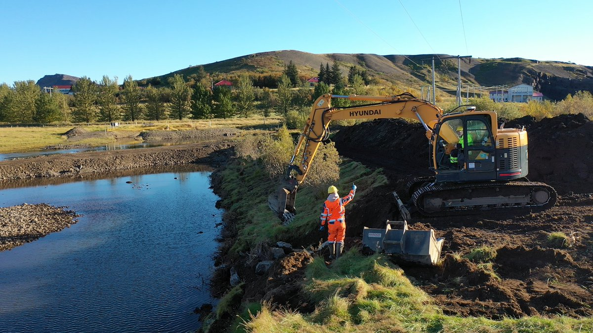 Last week, we joined @cbecUK on a trip to #Iceland to deliver #RiverRestoration training to ON Power. The comprehensive training programme was delivered over 7-days with a range of techniques and environmental methodologies covered... bit.ly/3j0owAs #NaturallyDifferent