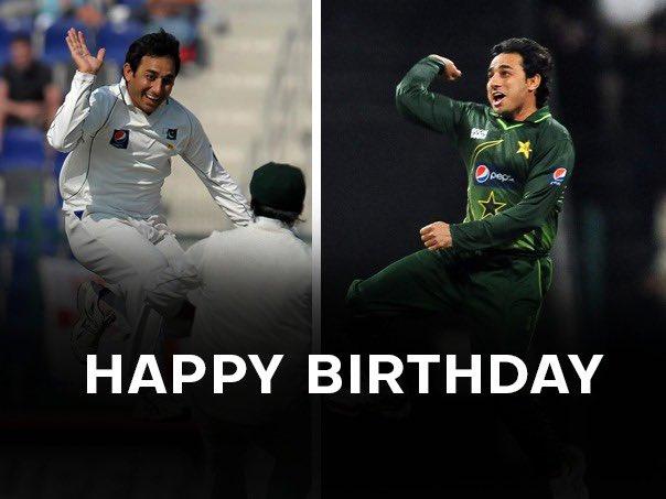 Happy birthday to Magician Saeed Ajmal