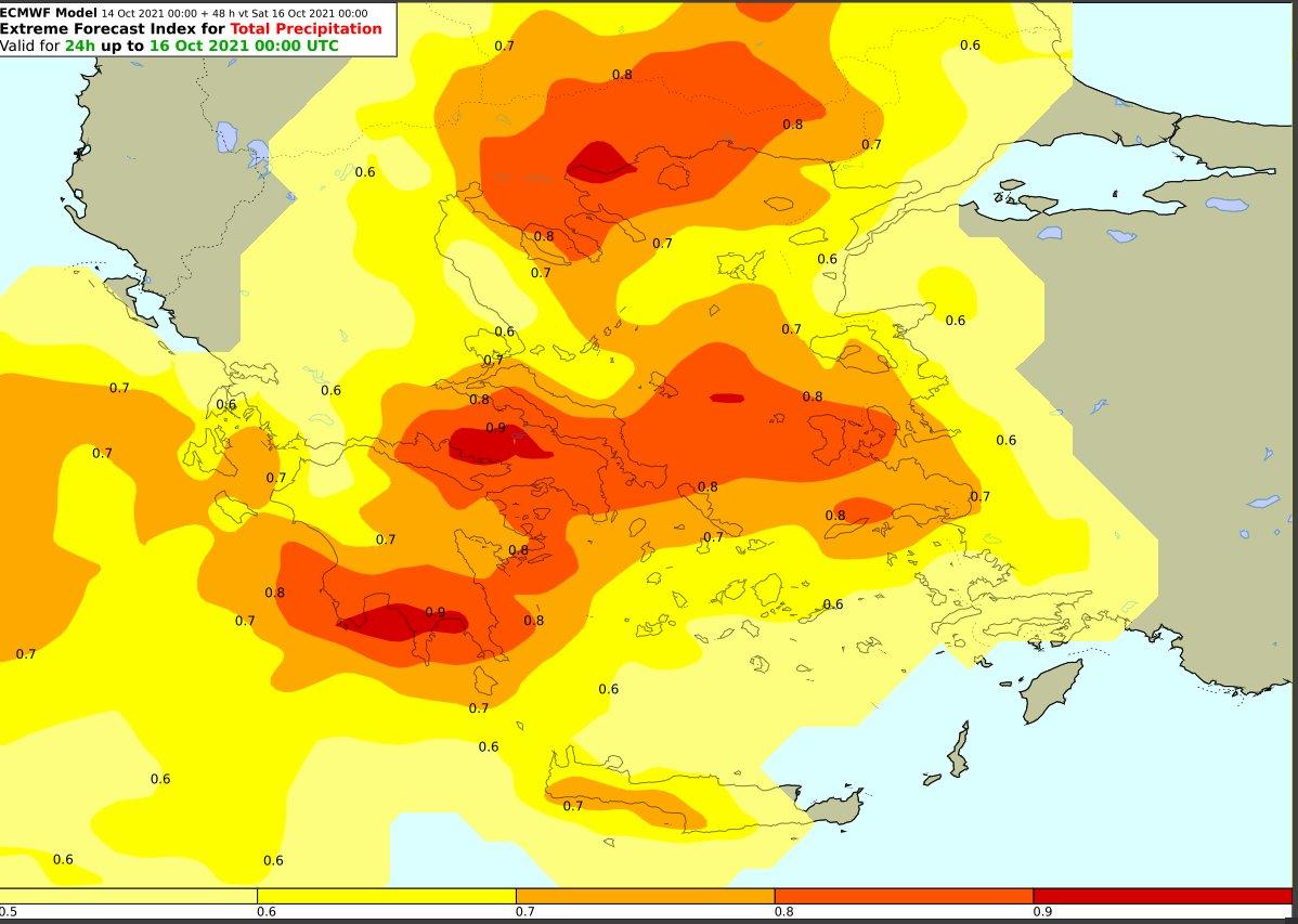 Ισχυρά φαινόμενα Ιόνιο, Πελ/σο, Στερεά και Εύβοια έως πρωί της Παρασκευής, ενώ από σήμερα το απόγευμα έως αύριο το πρωί ισχυρά σε Κεντρική ,Ανατολική Μακεδονία-Θράκη και σε Κεντρικό και Βόρειο Αιγαίο. Στην Αττική έως μεσημέρι Παρασκευής πιθανότητα #χαλαζοπτώσεων @GSCP_GR