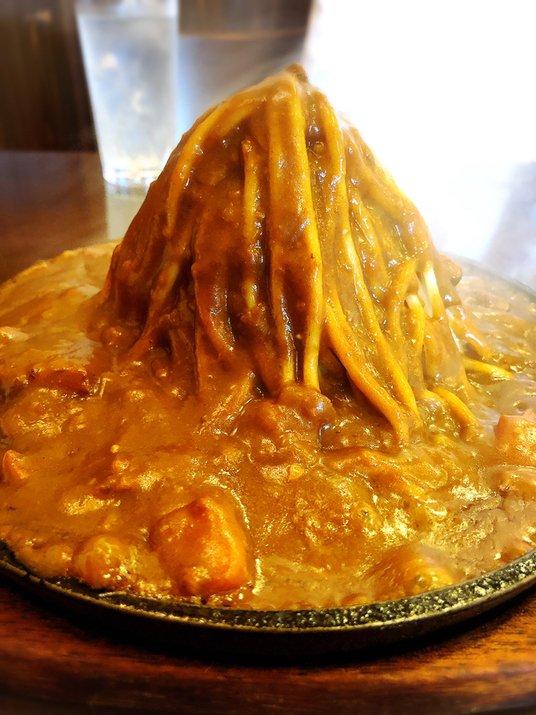 Happiness@大井町 カレースパ登山♡  #tabelog