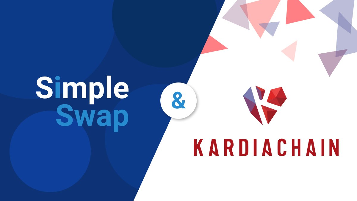 🚀 NEW LISTING #KAI by @KardiaChain is now available on our platform ✨ This project aims to create a unified ecosystem where developers can create #SmartContracts that can run on multiple #blockchains Get $KAI in a few clicks for over 400 #crypto on @SimpleSwap_io