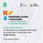Image for the Tweet beginning: 🙌 La conferencia central de