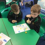 Image for the Tweet beginning: Using a dice for addition