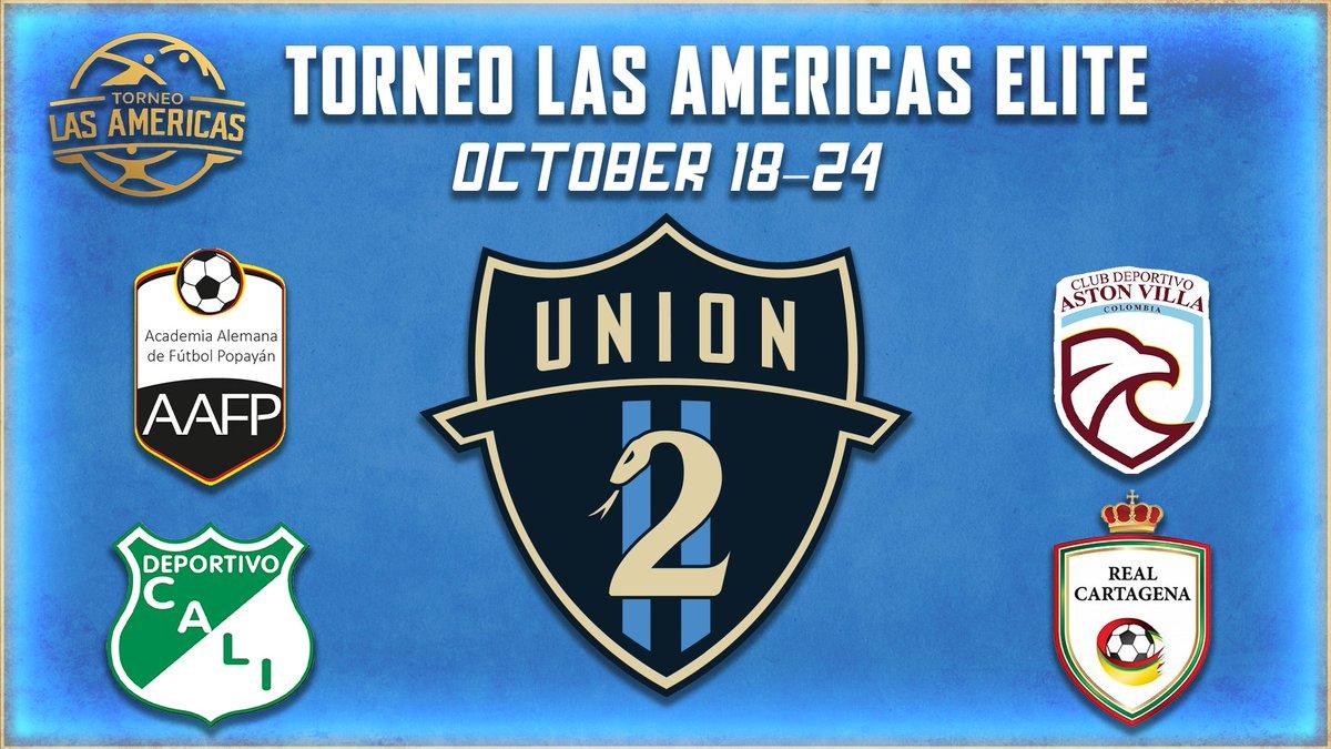 We are headed to 🇨🇴 for Torneo Las Americas Elite! Info: philaunion.co/e26