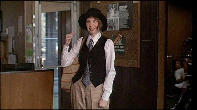 Happy birthday Ralph Lauren, the man behind Diane Keaton s iconic look in Annie Hall.