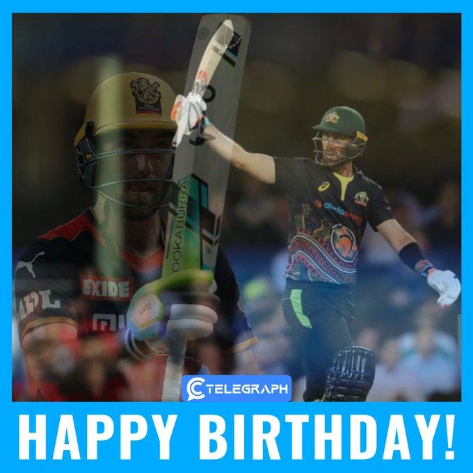 An ODI strike rate of 125.43, a T20I strike rate of 158.92 Happy birthday to Glenn Maxwell