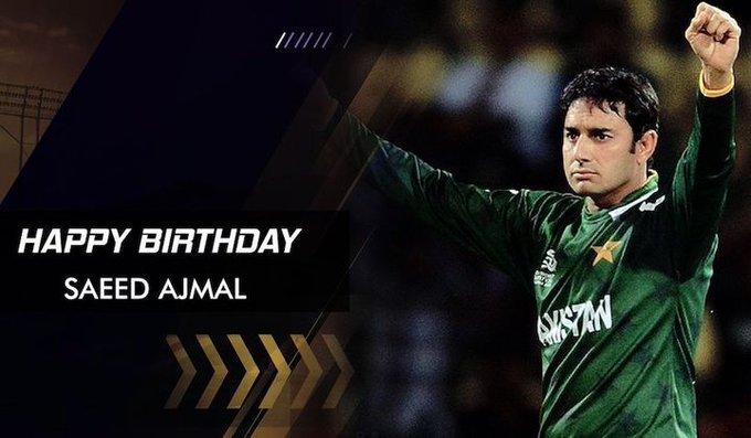 Happy Birthday, Saeed Ajmal