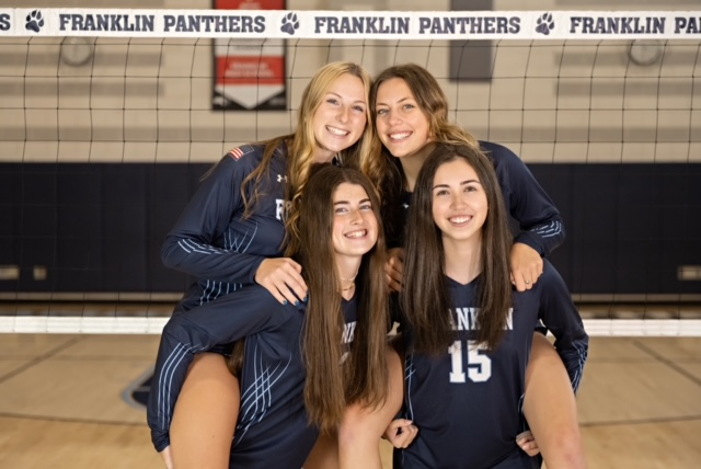 Senior Night Tonight!!! Let's pack the gym to celebrate Brigid, Cailyn, Delaney, and Lindsey