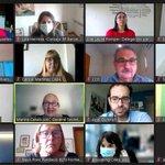 Image for the Tweet beginning: 🖇️Hoy, reunión técnica de Barcelona,