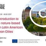 Image for the Tweet beginning: Our first #CitiesTalkNature webinar will
