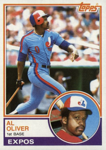 Happy birthday to former first-baseman Al Oliver, who turns 75 today.