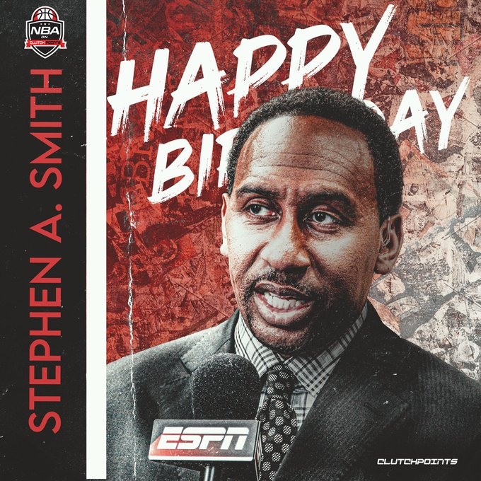 The man with the hottest takes in the land turns 54 today.  Happy birthday, Stephen A. Smith