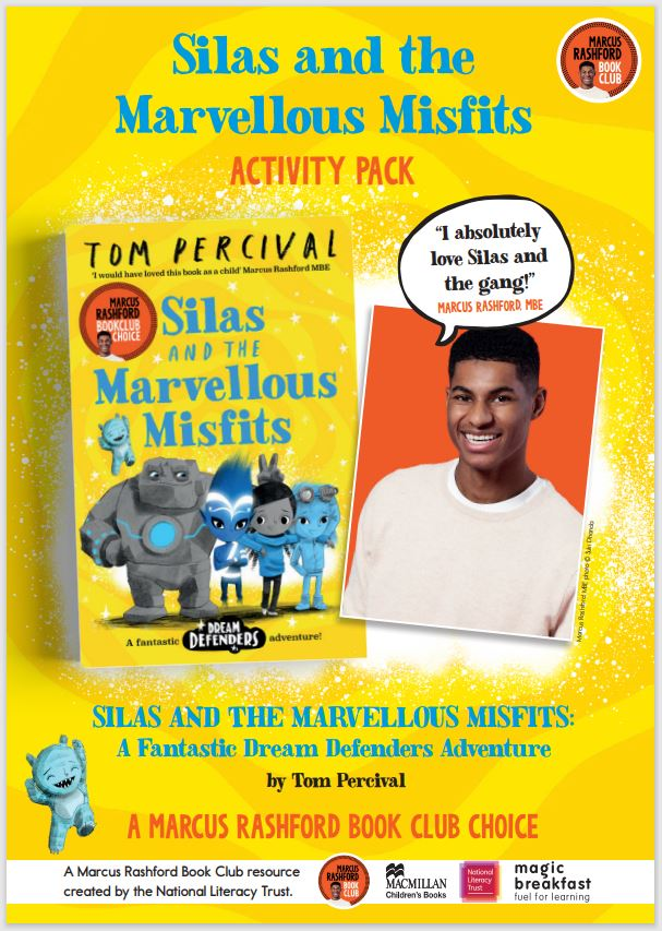 We are so excited about the latest @MarcusRashford Book Club release! Check out our activities and teaching resources for 'Silas and the Marvellous Misfits', created with @MacmillanKidsUK and with films from @TomPercivalsays literacytrust.org.uk/marcus-rashfor…