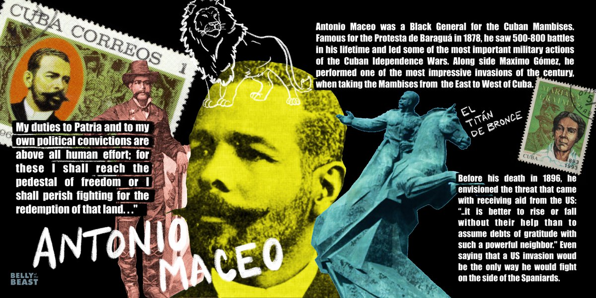 Today we honor the life of Antonio Maceo (June 14, 1845-December 7, 1896.) A link in the chain of many that rise up #FromUnderTheEmpire 🔗