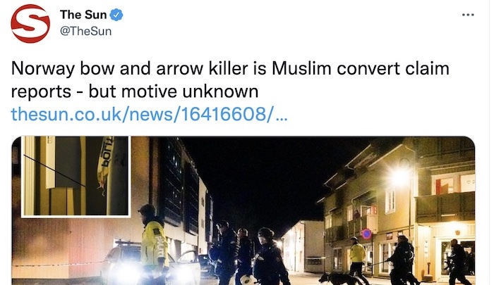 @jihadwatchRS's photo on Norway