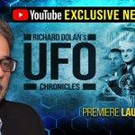 Image for the Tweet beginning: Richard Dolan's UFO Chronicles YouTube
