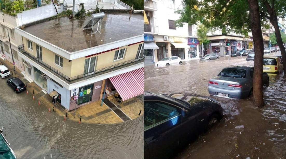 Atina ve çevresi şu an 'Ballos' adını verdikleri fırtınaya teslim. Ağır yağışlar var. O kadar ki okullar tatil edilmiş.  Yağış bize doğru geliyor ama sanırım kıyı Ege'ye kadar ulaşsa bile gücünü kaybedecek.  #BalkanHavası