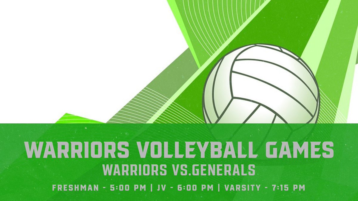 Our Volleyball Warriors are traveling tonight to Washington Liberty for amazing games. Good luck ladies <a target='_blank' href='http://twitter.com/WakefieldVB'>@WakefieldVB</a> !!!! <a target='_blank' href='http://search.twitter.com/search?q=GoWarriors'><a target='_blank' href='https://twitter.com/hashtag/GoWarriors?src=hash'>#GoWarriors</a></a> <a target='_blank' href='https://t.co/qPKdMG0Htm'>https://t.co/qPKdMG0Htm</a>
