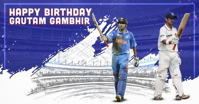 A very happy birthday to the second wall, Gautam Gambhir