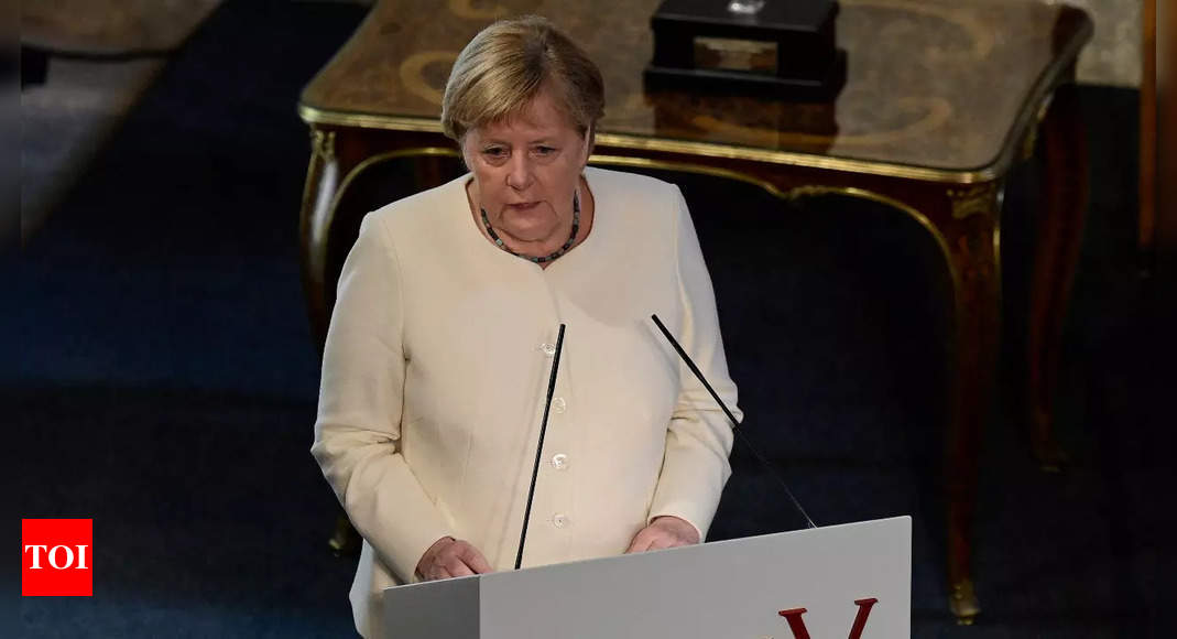 Merkel says Europe can deal with rise of China if it speaks with one voice