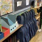 Every classroom needs an Annabelle – instruments tidied and stored in number order – Thank you Annabelle – A PRICE award on its way! 💚✨