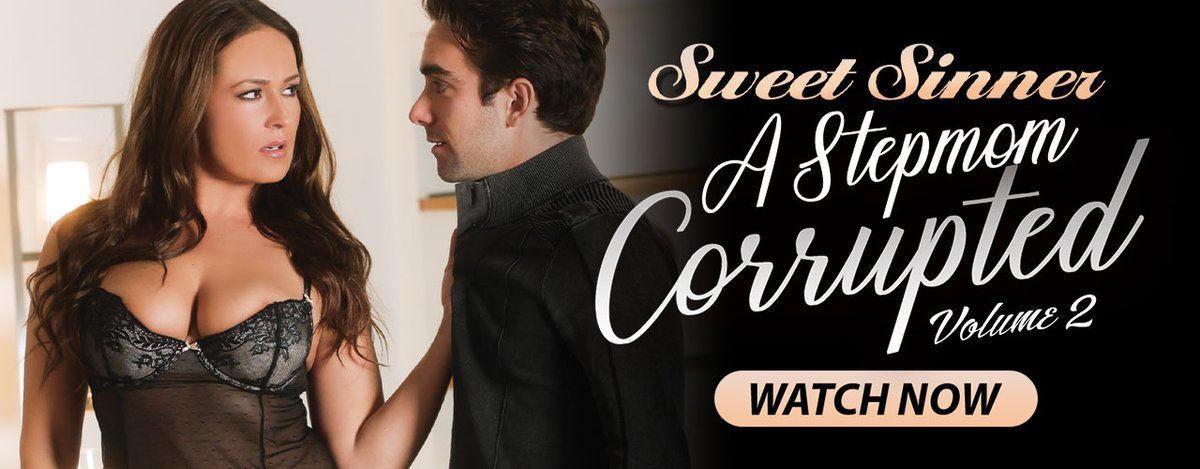 'A STEPMOM CORRUPTED (#2)' Is Setting Her Sights On Virile Stepsons in @SweetSinnerXXX's Sensational New HD Feature, Starring @ElexisMonroe @Britney_Amber @Glamchowdr @ninaland @michellelay69 & More... You Can See It Playing NOW on AEBN THEATER ! bit.ly/3oWsrBZ