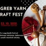 Image for the Tweet beginning: Zagreb Yarn Craft Fest -
