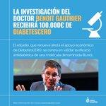 Image for the Tweet beginning: La investigación del Dr Benoit