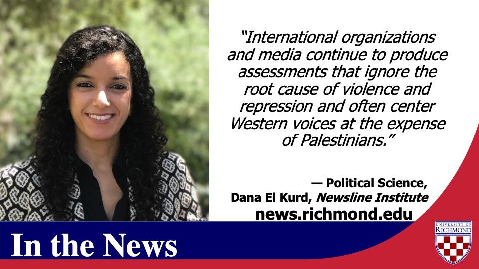https://t.co/hiBVyJPxTh  Political Science  (@URPoliSci_Dept) professor Dana El Kurd (@danaelkurd) authored this piece on Palestinian Civil Society Activism published in @NewslineInst https://t.co/DGBsNRXH1X