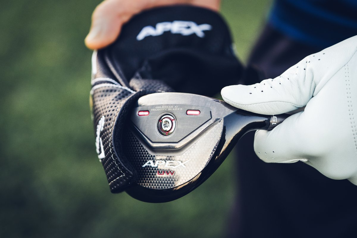 The new Apex UW (utility wood) from Callaway