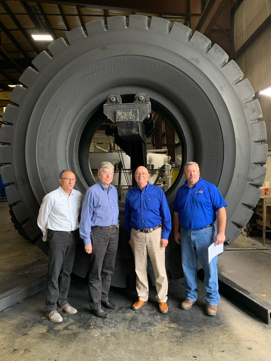 Toured @PurcellTire Headquarters in Potosi this afternoon. Opened in 1936 in Washington, MO, Purcell Tire has expanded to 14 states and more than 1,000 employees.