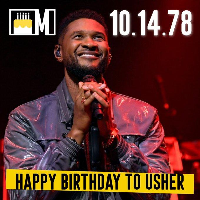 Happy 43rd Birthday to the legendary Usher!