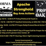 Image for the Tweet beginning: #ApacheStronghold convoy in CA: Their