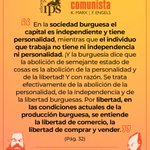 Image for the Tweet beginning: Si hablamos de libertad, Karl