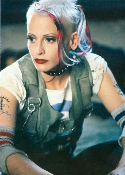 Happy birthday to Lori Petty, who starred as the post-apocalyptic, antihero title character in \Tank Girl.\